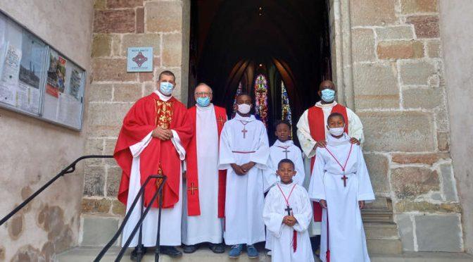 Bienvenue abbé Eric Nzabamwita