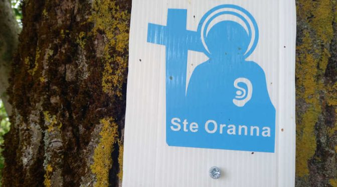Inauguration du sentier de Sainte Oranna