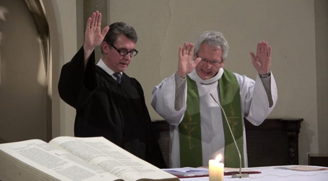 Le Seigneur est ma force et ma louange, il est mon libérateur – M. Christian LORANG prédicateur laïc UEPAL à l'occasion de la veillée de prière œcuménique pour l'unité des chrétiens