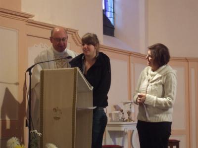 Bénévoles et responsables des RESTOS DU COEUR