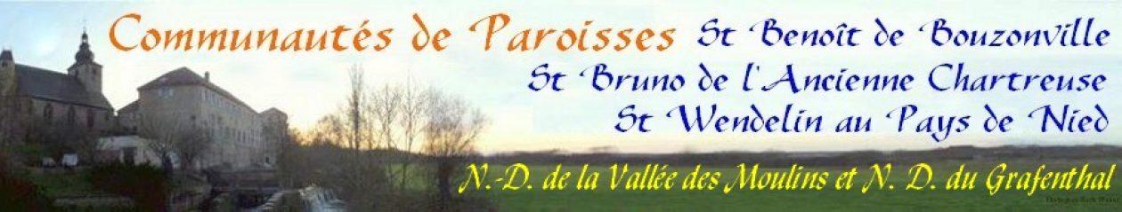 Communauté de Paroisses St Benoît de Bouzonville