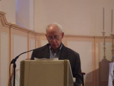 M. Guy LEDEY, responsable de l'équipe Secours Catholique de Boulay