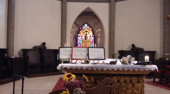 Messe de rentrée et fête des récoltes
